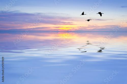 Fotobehang Een Hoekje om te Dromen el lago de colores