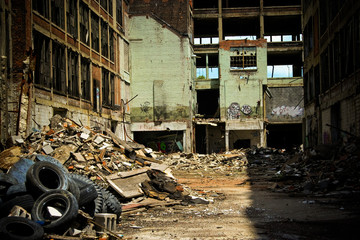 Abandoned Packard Factory 8