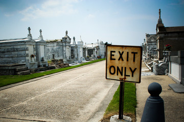 Exit Only Cemetery
