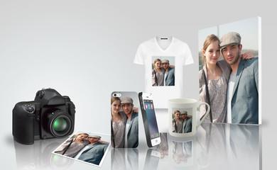 Tirage photo - impression sur objet - couple