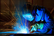 welder at work - 57074376
