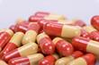 Tabletten in Kapselform-close up