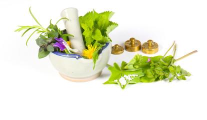Homöopathie isoliert