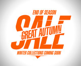 Great autumn sale design.