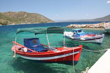 Grèce - Pélion, rentrèe de pêche