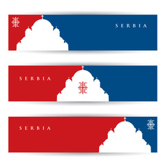 Serbia banners