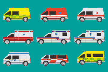 Ambulance cars