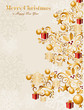 Luxury Merry Christmas tree background EPS10 vector file.