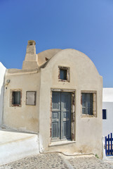 Classical greek architecture (Santorini Island - Greece)