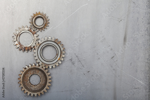Four Unique Gears