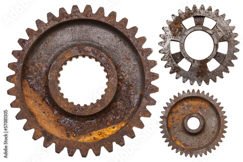 Poster Three Rusty Gears