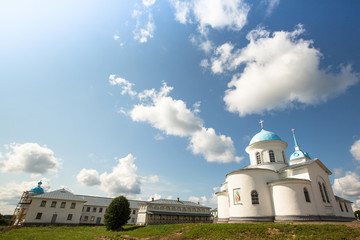 Russian orthodox monastery, Tervenichi.