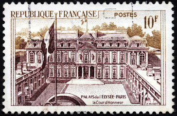 Elysee Palace Stamp