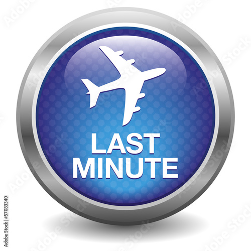 Blau last minute button