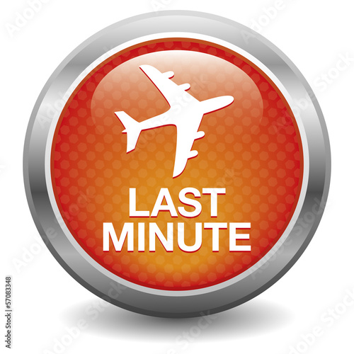 Red last minute button