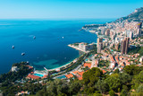 Fototapety Monte Carlo view on summer day
