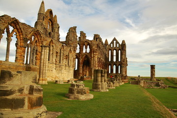 Whitby Abbey, UK.