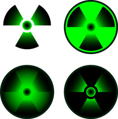 signs of radiation