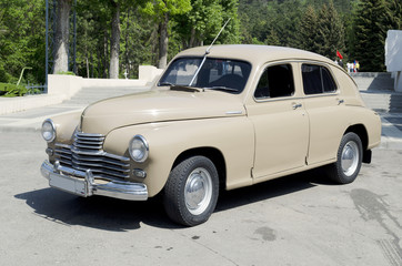 «Победа»,  советский легковой автомобиль