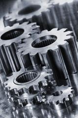 power gears and cogwheels of titanium