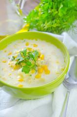 corn soup
