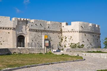 Castle of Monte Sant'Angelo. Puglia. Italy.