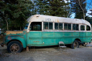 Magic Bus 142 from the movie Into The Wild