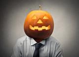 Halloween businessman