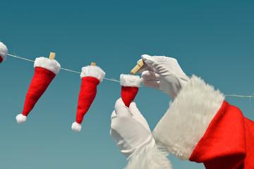 """Christmas """"on line"""" - XXXXS Santa Hats"""
