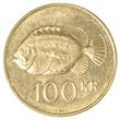 Постер, плакат: 100 icelandic krona coin