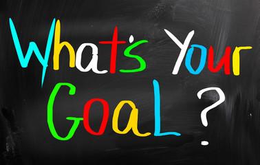 Set Goals Concept