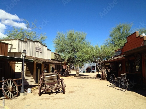 Wild West Theme Frontier Town Arizona