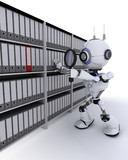 Robot searching documents