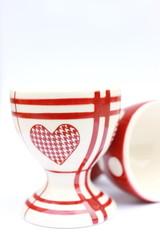 Egg ceramic cup