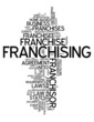 "Word Cloud ""Franchising"""
