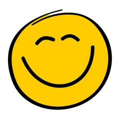 Gelber Smiley