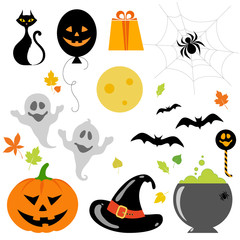 halloween objects