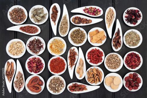 Fototapeten,chinese,kräuter,medizin,gesundheit