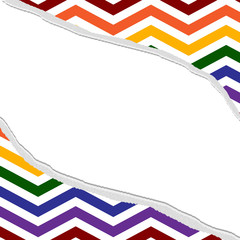 LGBT Colored Torn Background for your message or invitation