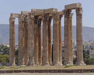 ancient Greek temple of Olympian Zeus, Athens