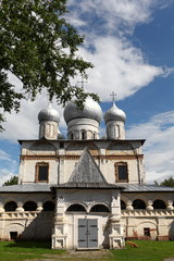 Cathedral  of Our Lady of the Sing in Novgorod