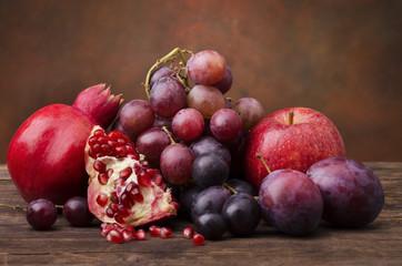 frutta di stagione autunnale