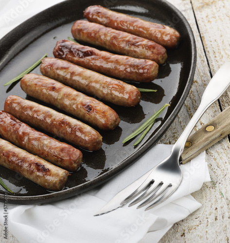 Fried Breakfast Sausage Links