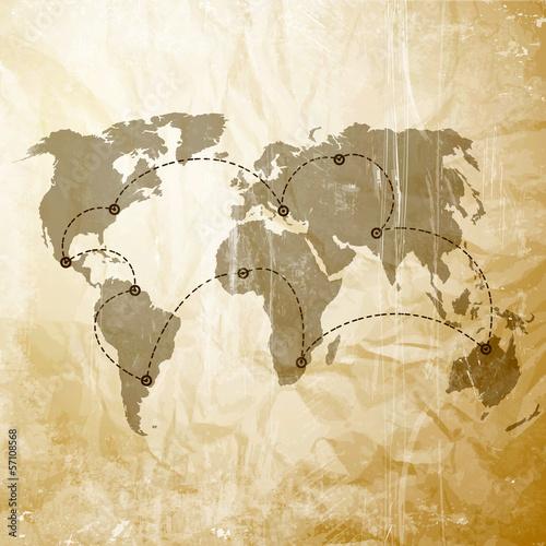 mapa-swiata-z-liniami-lotniczymi