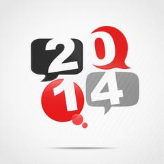 4 bulles 2014 (rouge,gris et noir)