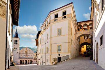 Il Duomo da Via Aurelio Saffi, Spoleto