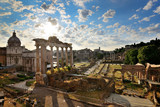 The Roman Forum at dawn, Rome