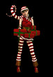 Santas Little Helper Sophie CA, 3d CG
