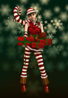 Santas Little Helper Sophie, 3d CG