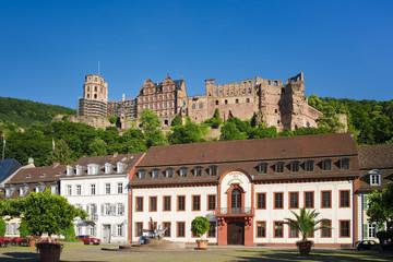 Heidelberger Schloss und Karlsplatz